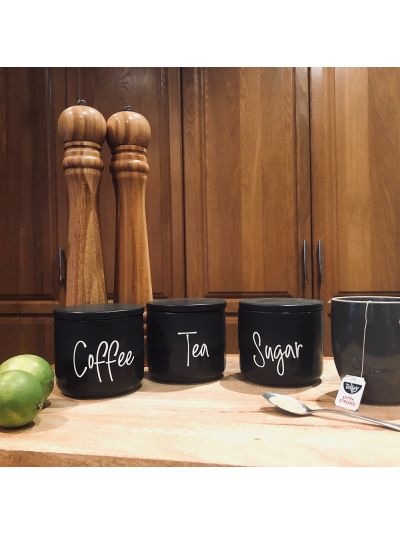 Tea, Coffee, Sugar Labels (3 Pack)
