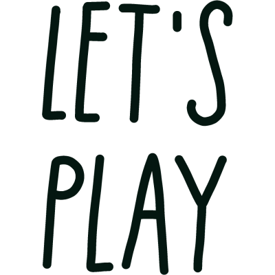 'Let's Play' Decal
