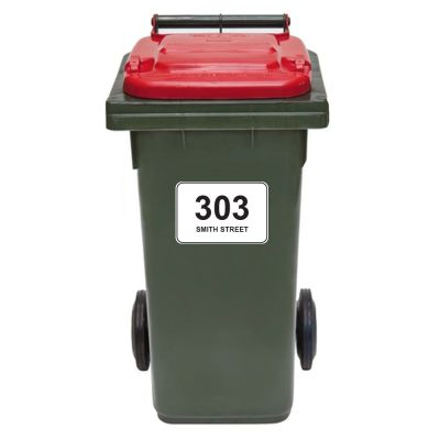 Bin Sticker - Set of Three