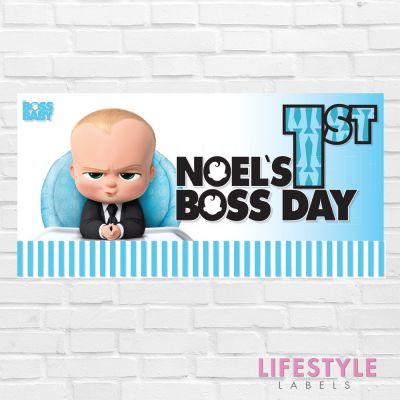 Boss Baby Birthday Banner
