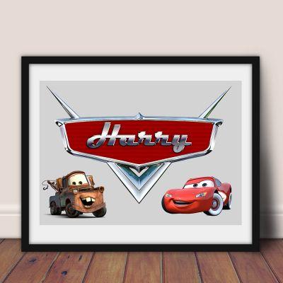 DIGITAL - Personalised Cars Art Work