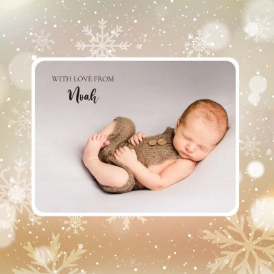 Custom Photo Gift Tag Labels