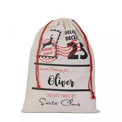 PRE ORDER - Personalised Christmas Santa Sack