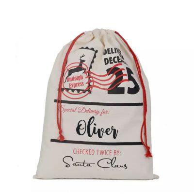 Personalised Christmas Santa Sack