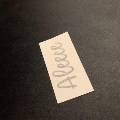 FREE - Name Label - Aleece
