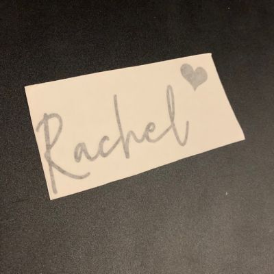 FREE - Name Label - Rachel
