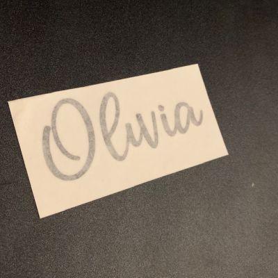FREE - Name Label - Olivia