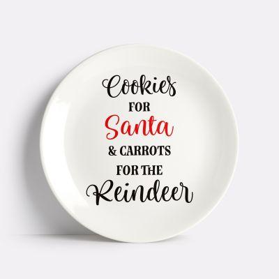 Cookies for Santa & Milk for Santa Decal Set