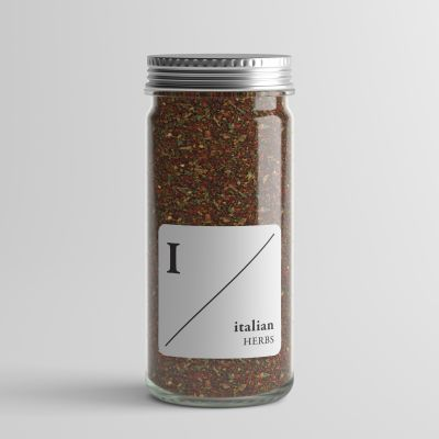 Square Alphabet Spice Labels
