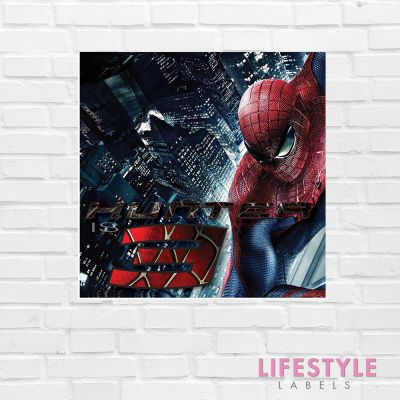 Spiderman Birthday Banner